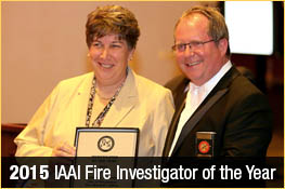 2015 IAAI Fire Investigator of the Year: Assistant Fire Marshal Andrea Buchanan